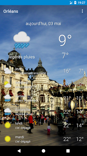 M t o orl ans 6 apk by dan cristinel alboteanu details - Meteo orleans demain ...