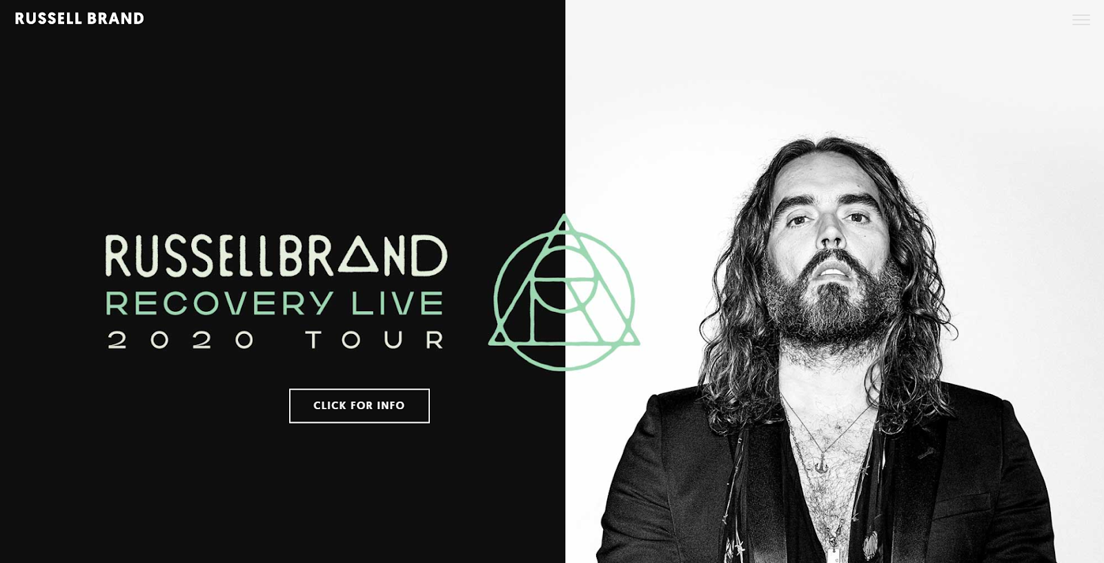 Russel Brand's personal website