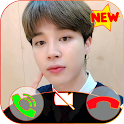 Jimin BTS fake video call Now icon