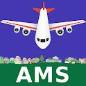 Amsterdam Schiphol Airport: Flight Information icon