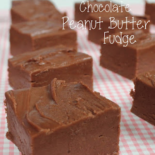 Chocolate Peanut Butter Fudge Recipe