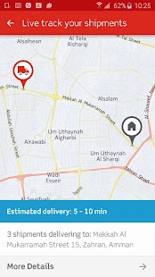 Aramex Mobile- screenshot thumbnail