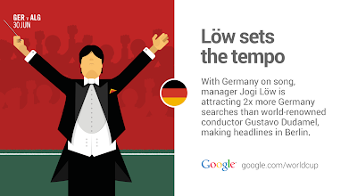 Photo: Will the maestro Joachim Löw conduct his greatest symphony yet against Algeria? #GER #GoogleTrends http://goo.gl/1znTWc