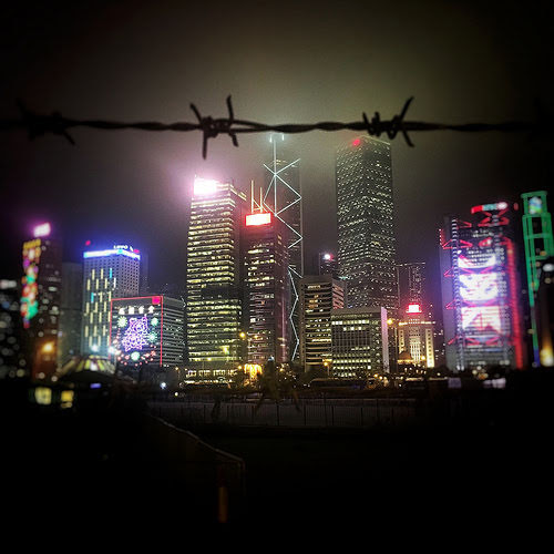 Central, hong kong, night view, Nightscape, 中環, 夜景, 香港