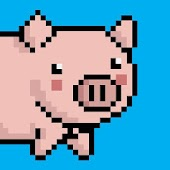Pixel Falling Pig (Unreleased)