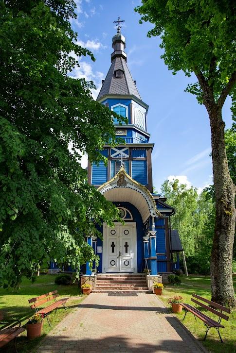 Puchły, cerkiew pw. Opieki Matki Bożej