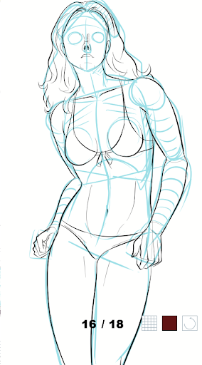 How to draw female body  screenshots 4