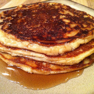 Low-Carb Cinnamon Vanilla Pancakes.