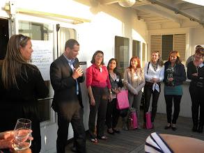 Photo: Koninklijke Saan Archiefbeheer reikt prijs uit aan winnaars businessgame Secretaresse Goeidag 19 april 2011.