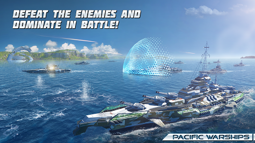 Pacific Warships [Mod] – God Mode, No Reload