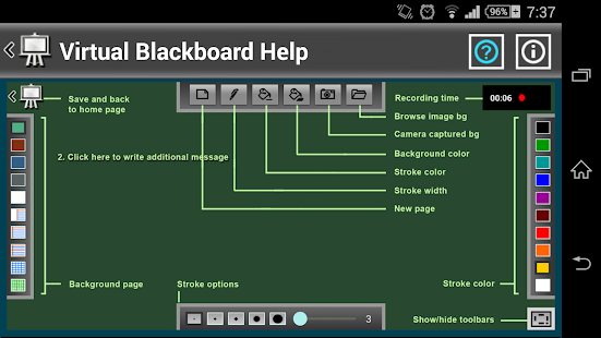 Virtual Blackboard- screenshot thumbnail