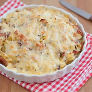 Ham and Cheese Pasta