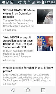 World News Window - náhled