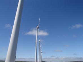 Photo: オロロンの風力発電