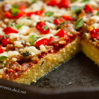 Polenta Pizza.