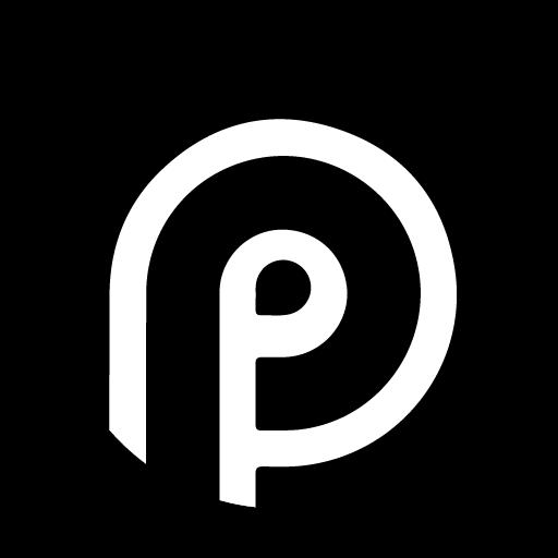 Teardrop Pixel Dark Black AMOLED UI - Icon Pack