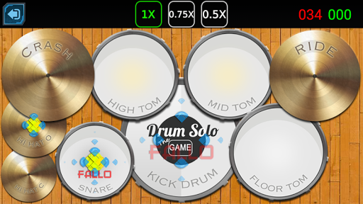 Drum Solo The Game - 爵士鼓  遊戲|玩音樂App免費|玩APPs