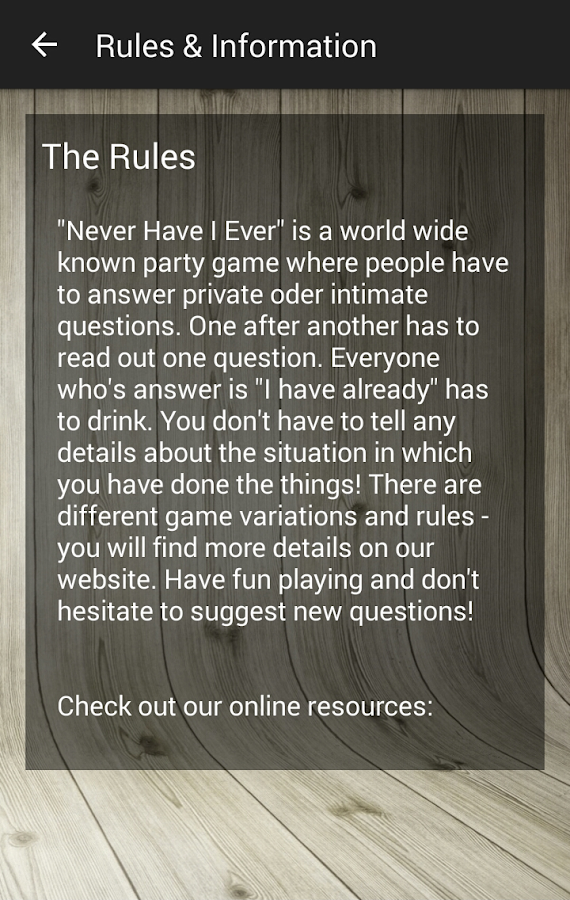 Never Have - ONLINE | 100%Free- screenshot