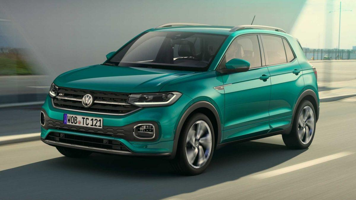 10 SUV-uri noi pe care ți le poți cumpăra cu mai puțin de 20.000 de euro - VW t-cross