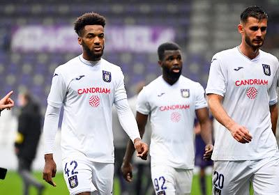"""Hannes Delcroix regrette le réveil tardif d'Anderlecht, qui aurait égalisé """"si le match durait plus longtemps"""""""