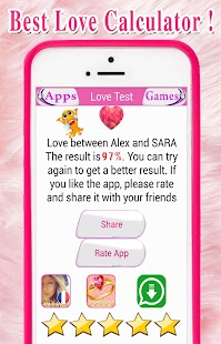 Love Calculater- Love Test Games Crush matching - náhled