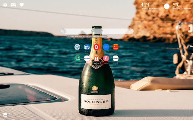 Luxury Yacht Lifestyle Themes New Tab