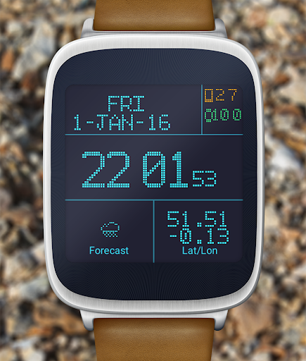LED Watch face with Weather  screenshots 6