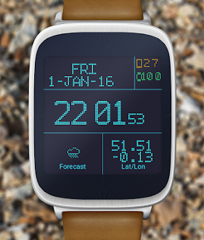 LED Watch face with Weather
