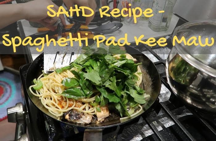 Recipe Spaghetti Pad Kee Maw Pad Kee Mao