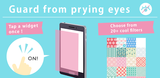 Privacy Filter Pro - guard from prying eyes app for Android screenshot