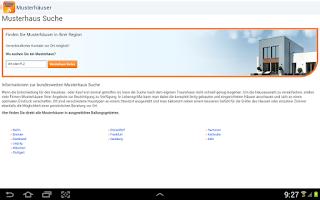Screenshot of Hausbau: Immobilien Scout24