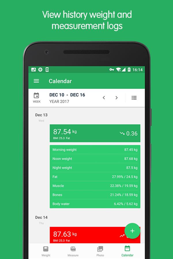 Weight Track Assistant - Free weight tracker Screenshot 4