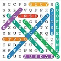 Word Search Colorful+Puzzles icon