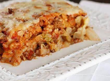 Stuffed Cabbage Casserole