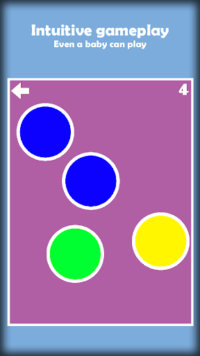 Tap the Color Dots for infants