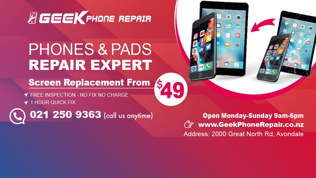 Geek Phone Repair - Samsung iPhone iPad Repair - Mobile