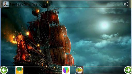 ファンタジー船の壁紙