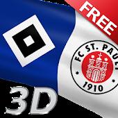 HSV & FC St Pauli Flaggen Free