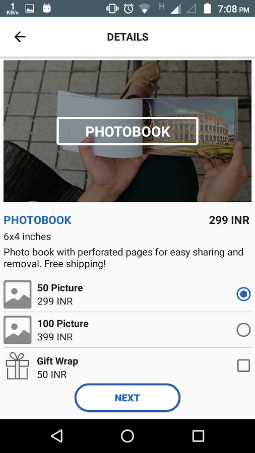 WeeBook- screenshot