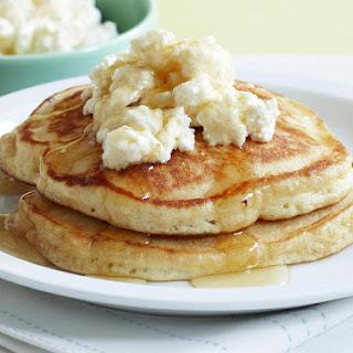 Ricotta and Lemon Pancakes.