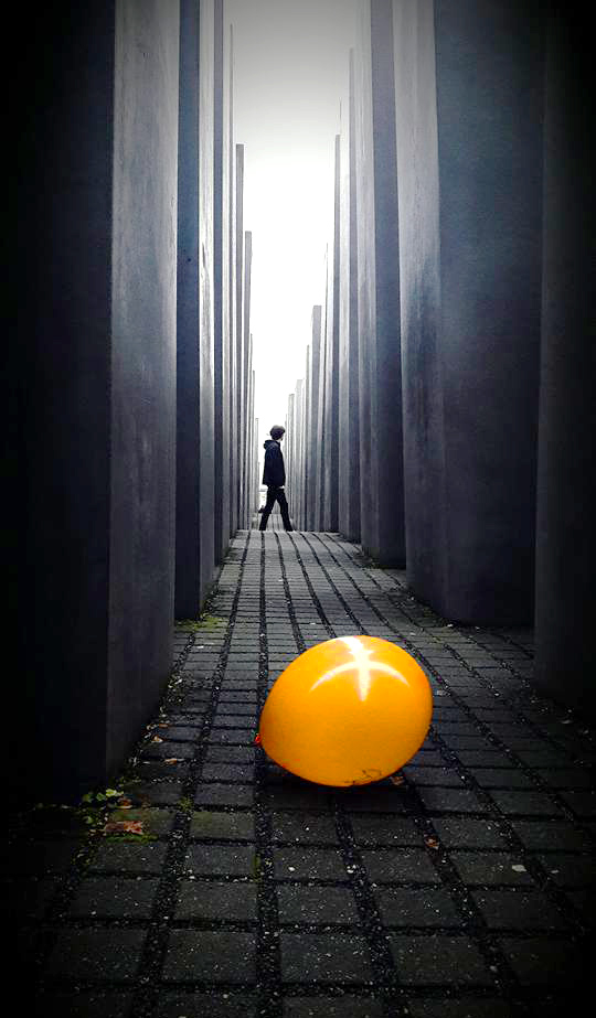 Holocaust Memorial, fuga dai ricordi! di Jlol_10