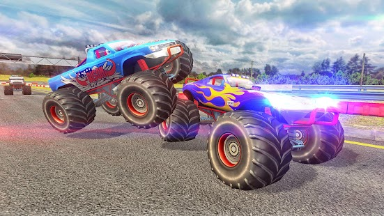 Grand Monster Truck Racing 2018 - náhled