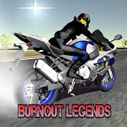 Burnout Legends - Realistic 3D motorbike drag race