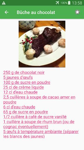 Biscuit roulu00e9 avec calories recettes en franu00e7ais. 2.14.10021 screenshots 6