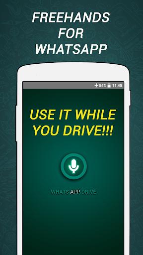WhatsDrive handsfree Whats app