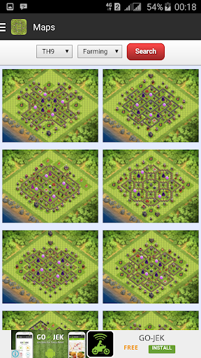 Maps for Clash of Clans - Free