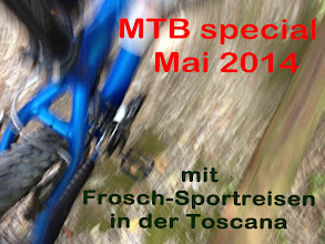 Photo: Mountainbike-Touren in der Toskana 11.-18.05.2014 mit www.frosch-sportreisen.de