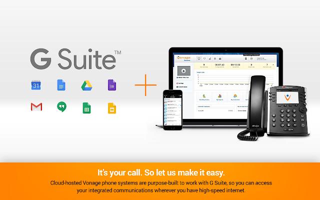 Vonage® for G Suite™ - G Suite Marketplace