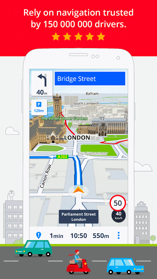 GPS Navigation & Maps Sygic- screenshot