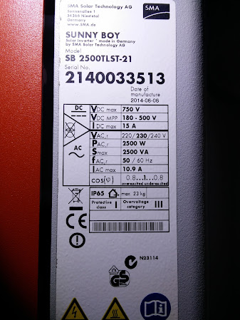 Sunny Boy 2500TL that's just 4 months tool old to include WebConnect